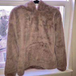 Forever 21 fuzzy blanket hoodie NEVER WORN